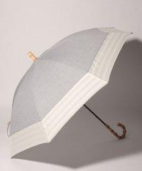 ボーダー切り替え晴雨兼用日傘