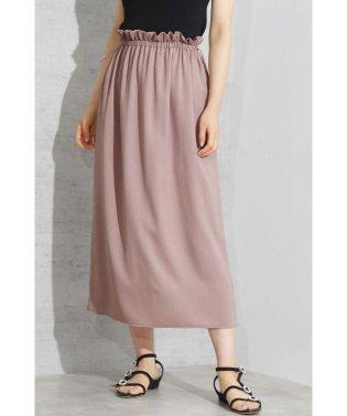 ◆《EDIT COLOGNE》楊柳ギャザースカート
