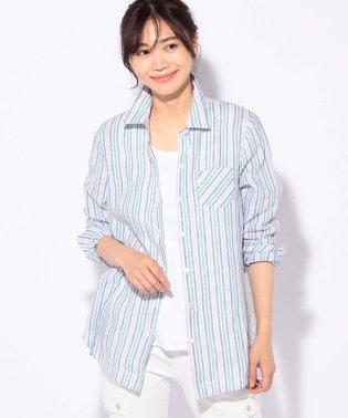 【MONTI】ストライプシャツ