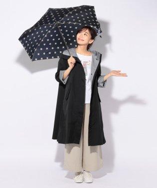 折りたたみ傘付レインコート(ポーチ付き)