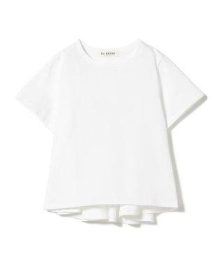 Ray BEAMS / バック フレア クルーネック Tシャツ