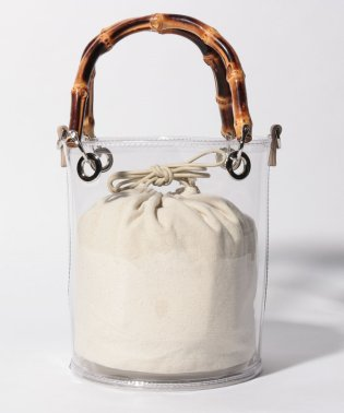 Bamboo Clear Bag
