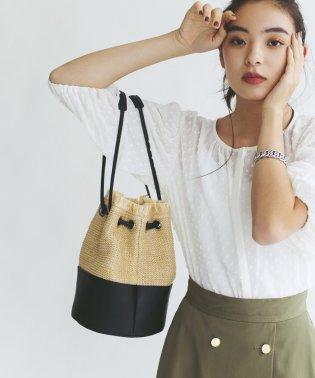 【EMMEL REFINES】FFC ザツザイ コンビ 巾着バッグ