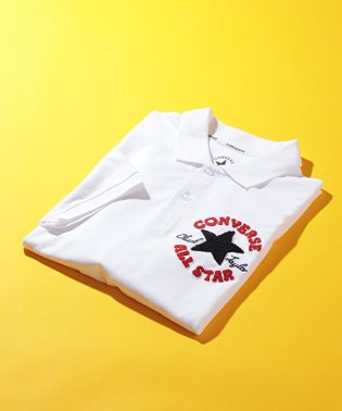 【WEB限定】【CONVERSE】コンバース サガラ刺繍 ポロシャツ