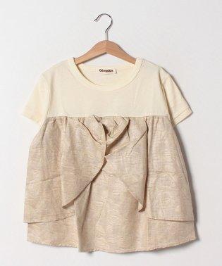 【セットアップ対応商品】切替リボンTシャツ