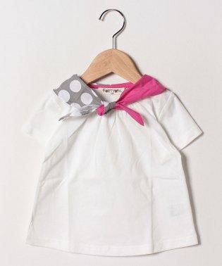 スカーフ付Tシャツ
