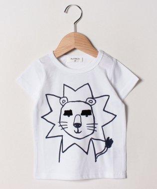 眉毛ライオンTシャツ