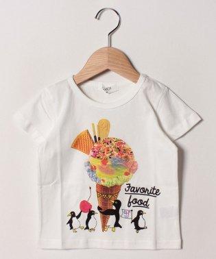 41アイスクリーム半袖Tシャツ