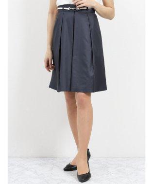 ボンフォルト セットアップフレアースカート 紺