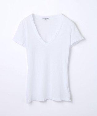 スラブジャージー VネックTシャツ WUA3695