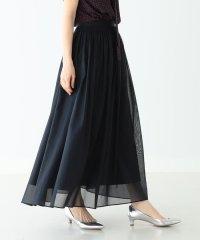Demi-Luxe BEAMS / コットンボイル ロングスカート