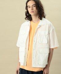 【ビッグシルエット】ダブルフラップポケットシャツ