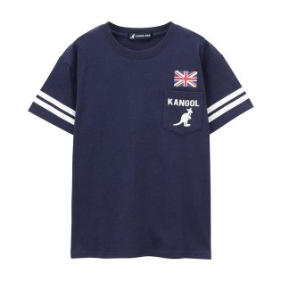 KANGOL ボーイズ ポケットTシャツ 887922