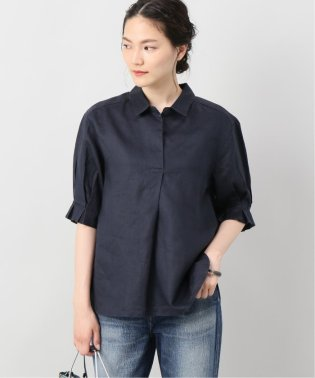 袖タックラミースキッパーシャツ