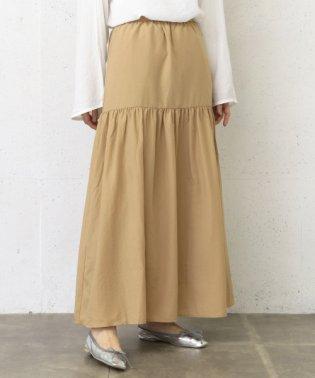 【WAREHOUSE】ギャザーロングスカート