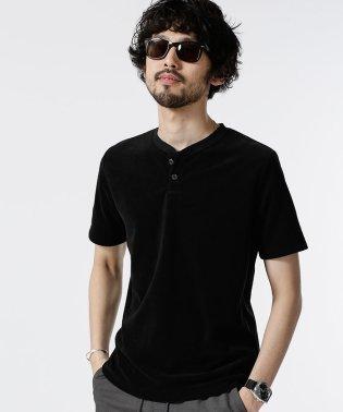 【MAGASEEK/dfashion限定】別注ショートリングパイルヘンリーTシャツ