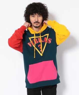 GUESSxJ.BALVIN/ゲス×J. バルヴィン/ VIBRAS COLOR BLOCKED HOODY
