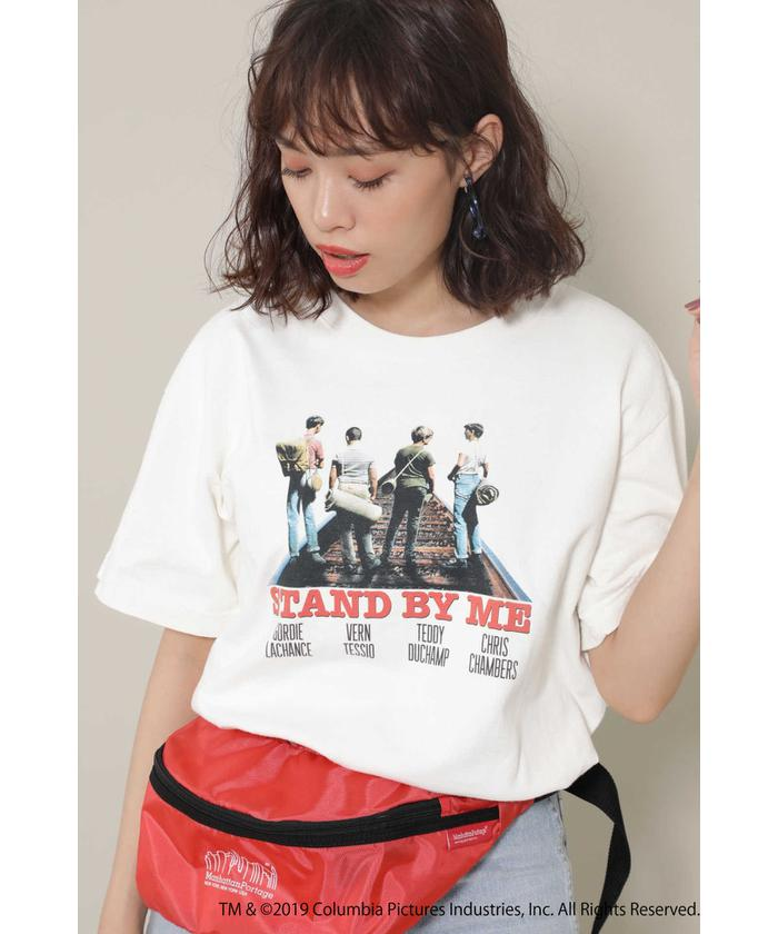 STAND BY MEフォトプリントTシャツ