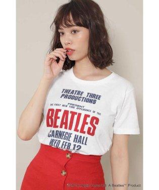 BEATLESロゴプリントTシャツ