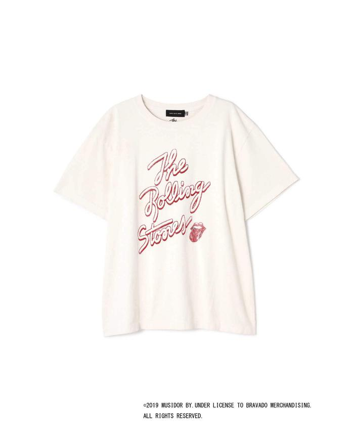 The Rolling StonesプリントTシャツ