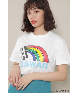 HAWAIIプリントTシャツ