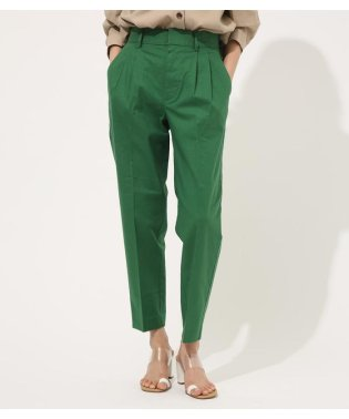 LINEN TOUCH TAPERED PANTS