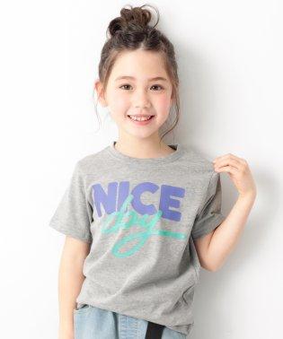 namiiiiコラボ プリント半袖Tシャツ