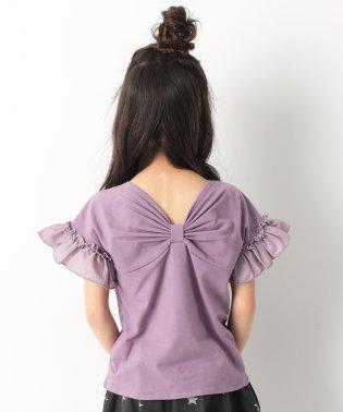 『ヒナタ』着用アイテム バックリボンTシャツ 女の子