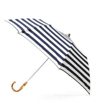 TRADITIONAL WEATHERWEAR マリンボーダー折り畳み傘