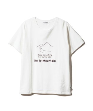 【GELATOPIQUEHOMME】マウンテンワンポイントTシャツ