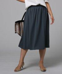 【洗える】ムースジョーゼットスカート