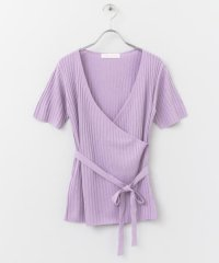 カシュクールセーター(5分袖)
