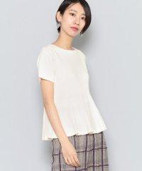 ペプラムセーター(半袖)