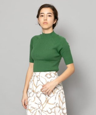 ハイネックセーター(5分袖)