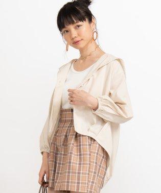 ルーズフードシャツ(7)