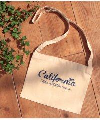 californiaプリントサコッシュ