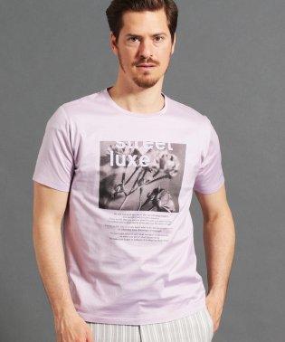ボタニカルグラフィックTシャツ