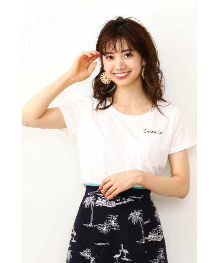 CherieロゴTシャツ