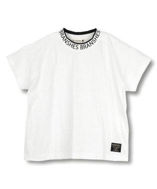 【吸水速乾】ロゴ襟半袖Tシャツ