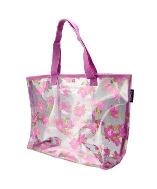 花柄プールバッグ