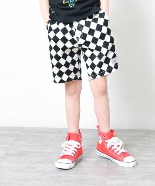 【爽パン】総柄ショートパンツ(80~140cm)