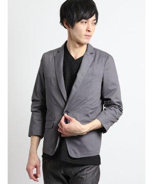 シャーリング7分袖ジャケット
