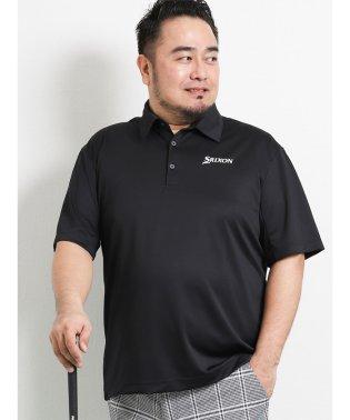 【大きいサイズ】スリクソン バイ デサント/SRIXON by DESCENTE メッシュリバース無地半袖ポロシャツ