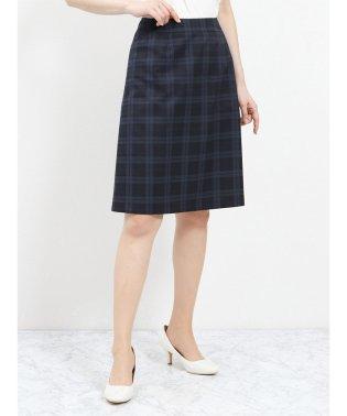 クールドッツ セットアップスカート 紺チェック