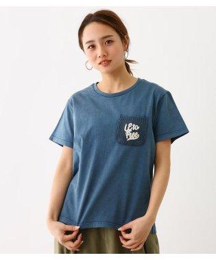 加工 ニット ポケット Tシャツ