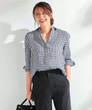 【マガジン掲載】LIBECO リネンシャツ(検索番号K23)