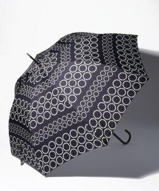 ドットボーダー長傘 雨傘