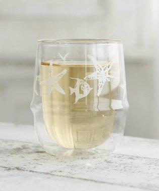 スターサカナ柄耐熱ダブルウォールグラス/サマンサアート