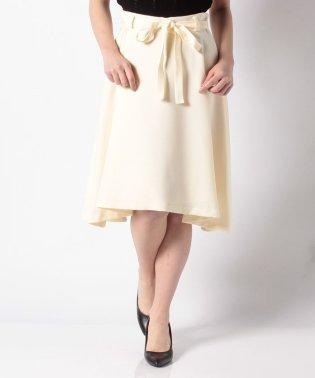 細リボン付きイレギュラースカート