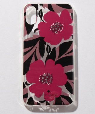【KATE SPADE】IPHONEケース X/XS対応/JEWELED POPPY FIELD 【RED MULTI】